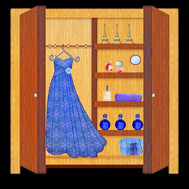 dámská skříň