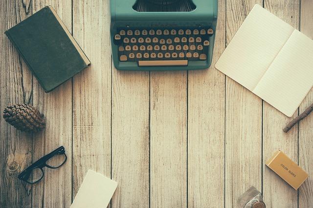 potřeby spisovatele