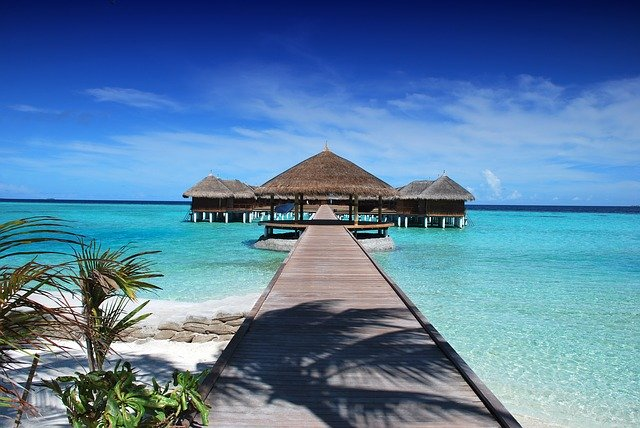Maledivy molo
