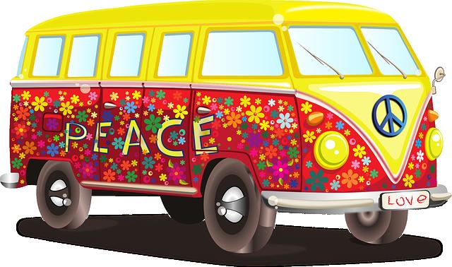 karavan v duchu 60. let